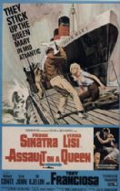 Assault on a Queen 1966 DVD - Frank Sinatra / Virna Lisi